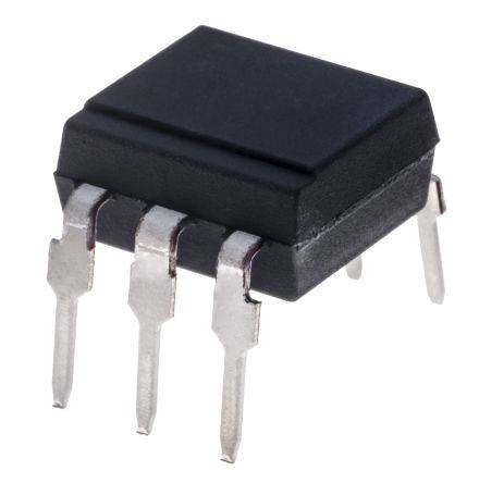 Isocom Fotoaccoppiatore, Montaggio con foro passante, uscita Triac, 6 Pin (65), MOC3062