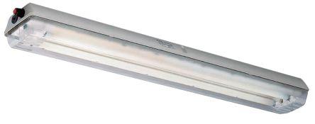 CEAG Luce per ambienti pericolosi Fluorescente 2x36 W, Apparecchio di illuminazione, zona , zona 1, 2, Da 120 a 240 V, 12266875111