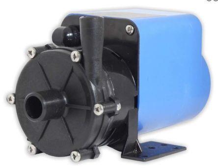 Xylem Pompa per acqua  , 23L/min max, prevalenza 3.8m max, ingresso BSP 1/2, uscita BSP 3/8, 0.018kW, 173903