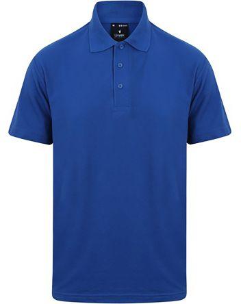 RS PRO Polo Blu reale a maniche corte , M Unisex, in Cotone, poliestere