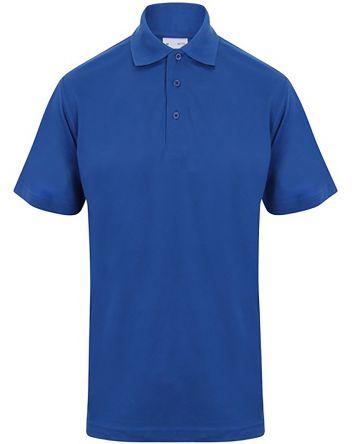 RS PRO Polo Blu reale a maniche corte , S Unisex, in Cotone, poliestere