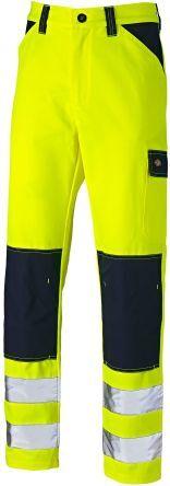 Dickies Pantaloni di col. Giallo/blu navy  Everyday, 33poll, con tasche per ginocchiere, SA24/7R  YLN 33