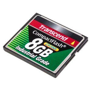 Transcend Scheda CompactFlash  8 GB, TS8GCF200i
