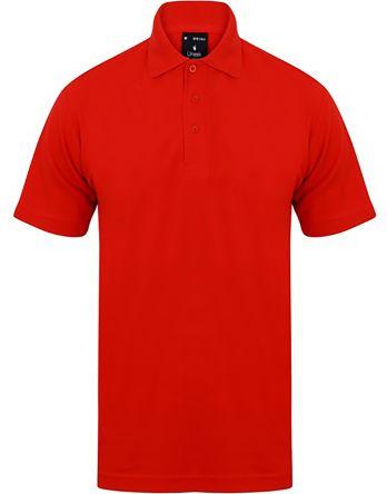 RS PRO Polo Rossa a maniche corte , L Unisex, in Cotone, poliestere