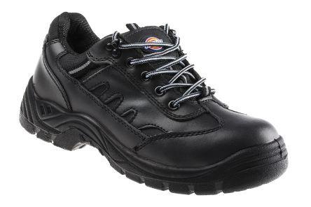 Dickies Scarpe sportive antinfortunistiche S1P  da Uomo tg. 42, col. nero, con puntale di sicurezza, FA13335 Stockton Super Safety Trainer S1-P Size 8