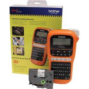 Brother Stampante per etichette  PT-E110, 180dpi, PTE110