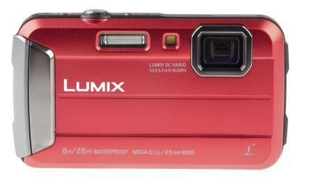 Panasonic Macchina fotografica digitale Rosso  2.7poll LCD With Built-in-Flash 16MP No No, DMC-FT30EB-R
