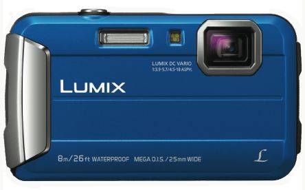 Panasonic Macchina fotografica digitale Blu  2.7poll LCD With Built-in-Flash 16MP No No, DMC-FT30EB-A