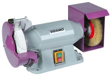 sidamo smerigliatrice da banco  , Ø 200mm, foro mola 32mm, 900w, 230v ca, 20113104