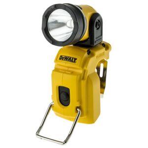 DeWALT Lampada a mano  LED Ricaricabile, Ad angolo retto, 130 lm, DCL510N