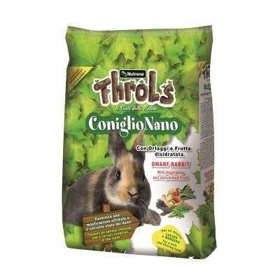 throls coniglio nano con ortaggi e frutta disidratata 2,5 kg