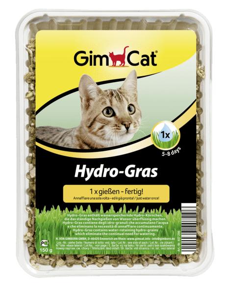 gimborn gimcat erba per gatti hydro gras 150g