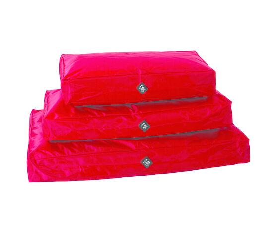 leopet cuscino per cani brick oxford rosso 50x80x15 cm
