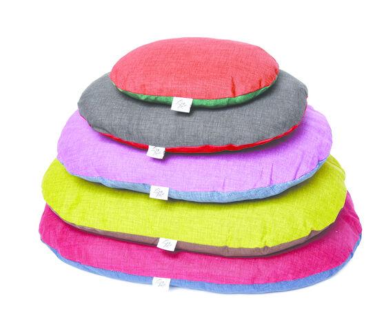 leopet cuscino per cani crono falso liso 75x50 cm