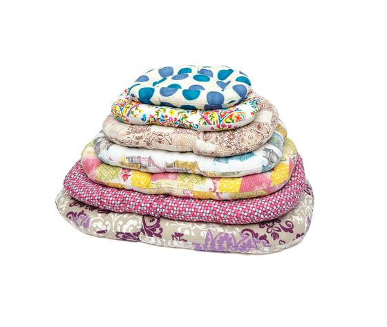 leopet cuscino per cani floconne 50 cm