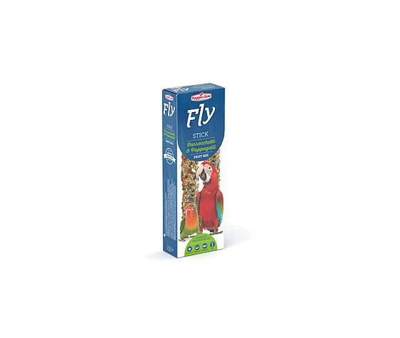 raggio di sole fly stick per parrocchetti e pappagalli fruit mix 80g