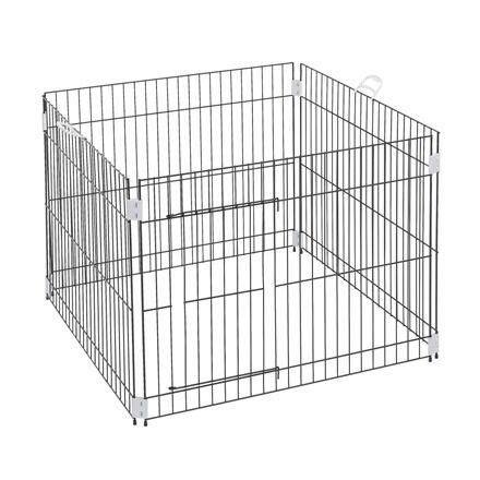 ferplast recinto per cani cage pen black dog training  (*)