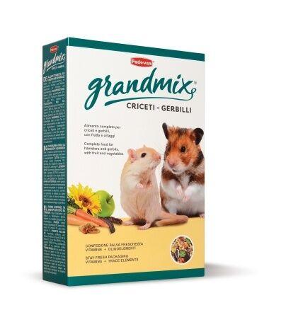 padovan grandmix alimento per criceti e gerbilli 400g