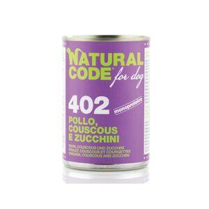 Natural_line_srl Natural Code Pollo Couscous E Zucchini 400 G
