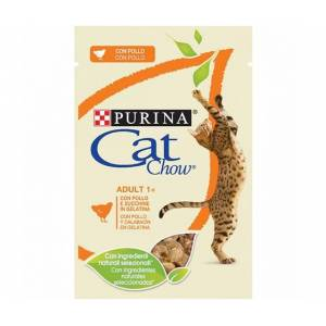 Purina Cat Chow Adult Pollo E Zucchine Bustine 85gr