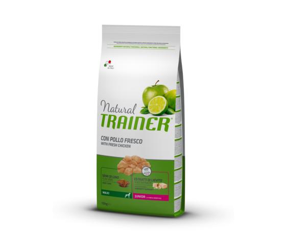 Trainer Natural Trainer Junior Maxi (9-24 Mesi) Con Pollo Fresco 12kg