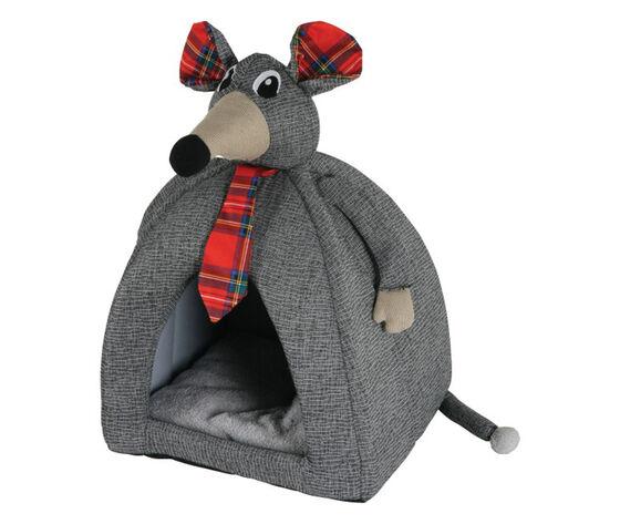 zolux cuccia per gatti da interno a forma di topolino igloo arthur