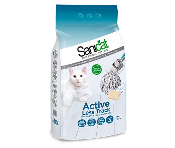 tolsa sanicat lettiera per gatti active less track 10l