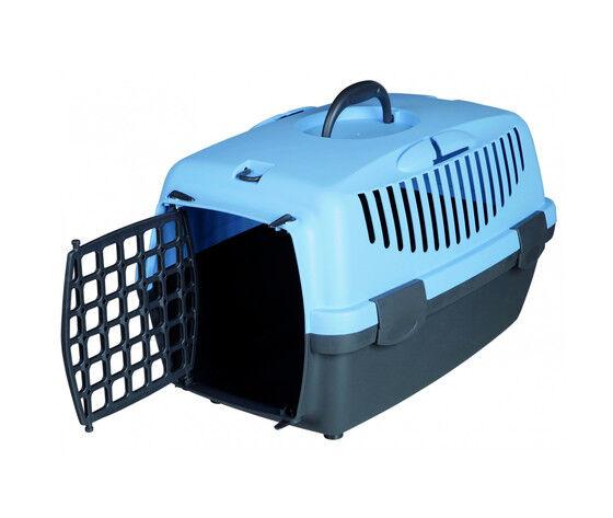 trixie trasportino per cani capri 2 blu 37x34x55 cm