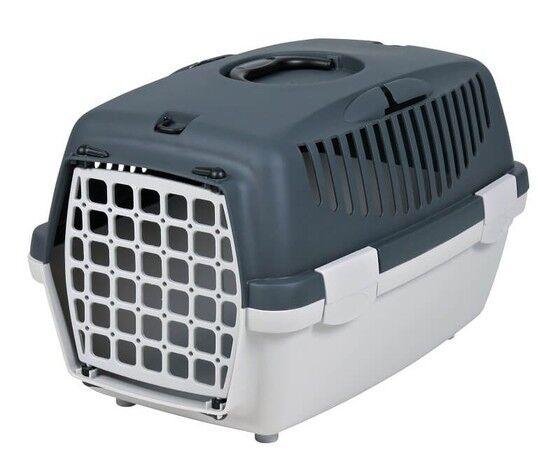 trixie trasportino per cani capri grigio 32x31x48 cm