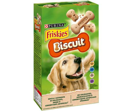 Purina Friskies Biscuits Biscotti Per Cane Scatola 650 G