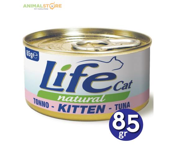Life Cat Kitten Tonno 85gr