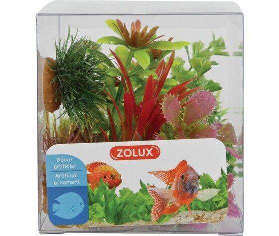 zolux decorazione per acquari mix 6 piante box modello 1