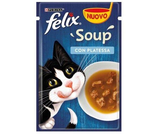 Purina Felix Soup Con Platessa 48gr