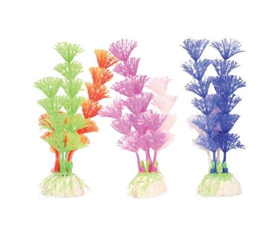 zolux decorazione acquari piante color plant m 1 pz