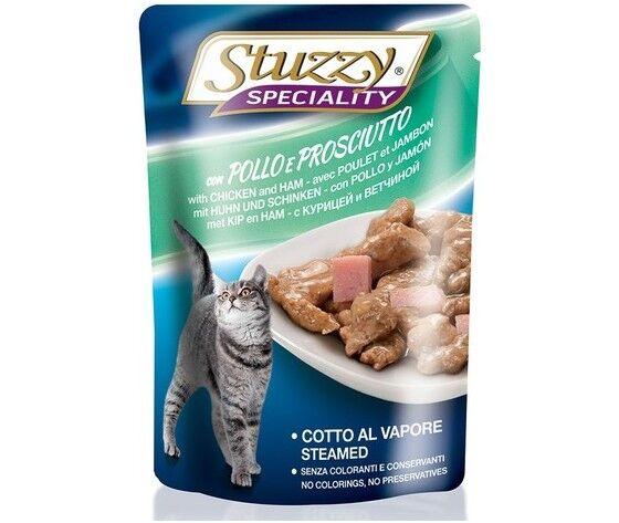 stuzzy speciality per gatto con pollo e prosciutto 100g