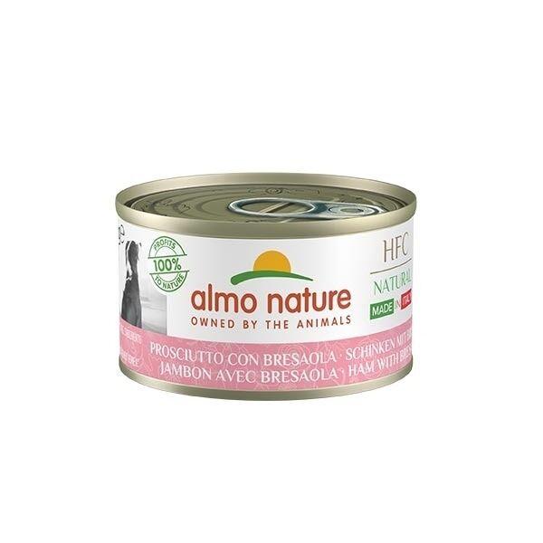 Almo Nature Hfc Natural Made In Italy Per Cani Adulti Da 95 Gr Prosciutto Con Bresaola