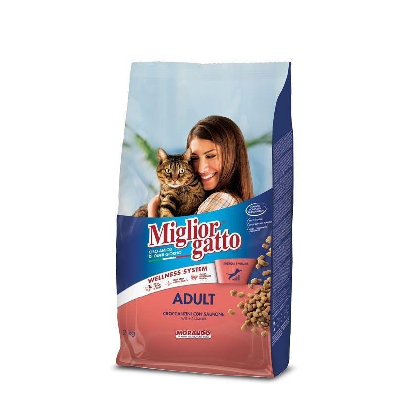 Morando Migliorgatto Adult Con Salmone 2kg
