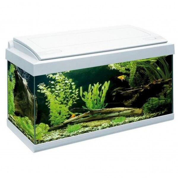mtb acquari acquario milo led 60x30x40cm bianco