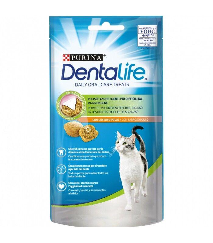 Purina Gatto Dentalife Salmone 40 Gr