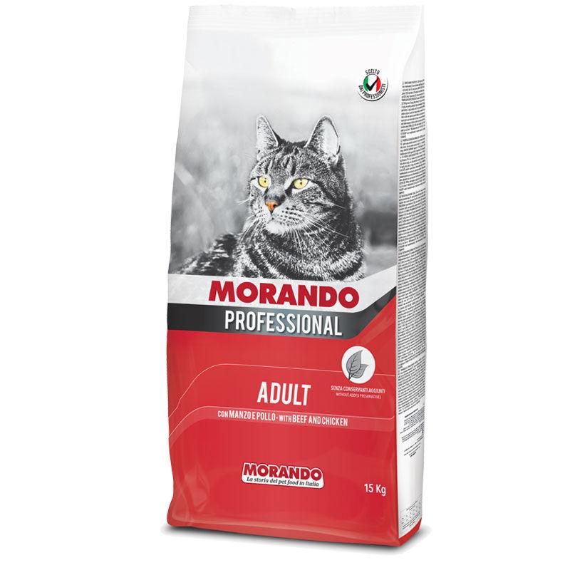 Morando Professional Gatto Adult Croccantini Con Manzo E Pollo 15kg