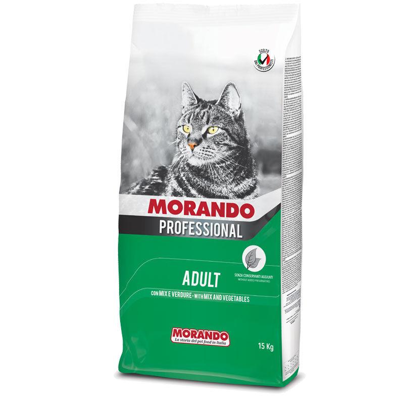 Morando Professional Gatto Adult Croccantini Mix Con Verdure 15kg