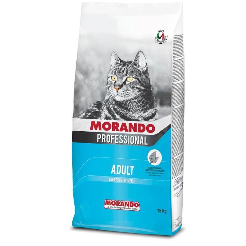 Morando Professional Gatto Adult Croccantini Con Pesce 15kg