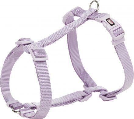 trixie premium pettorina per cani l 60-87cm 25 mm lilla