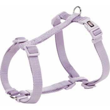 trixie premium pettorina per cani taglia l-xl 75-120/25 mm lilla