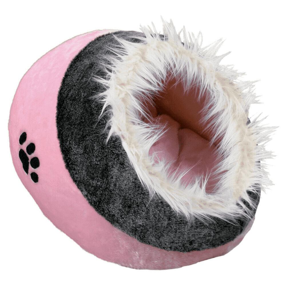 trixie cuccia per gatti igloo minou rosa 35 × 26 × 41 cm