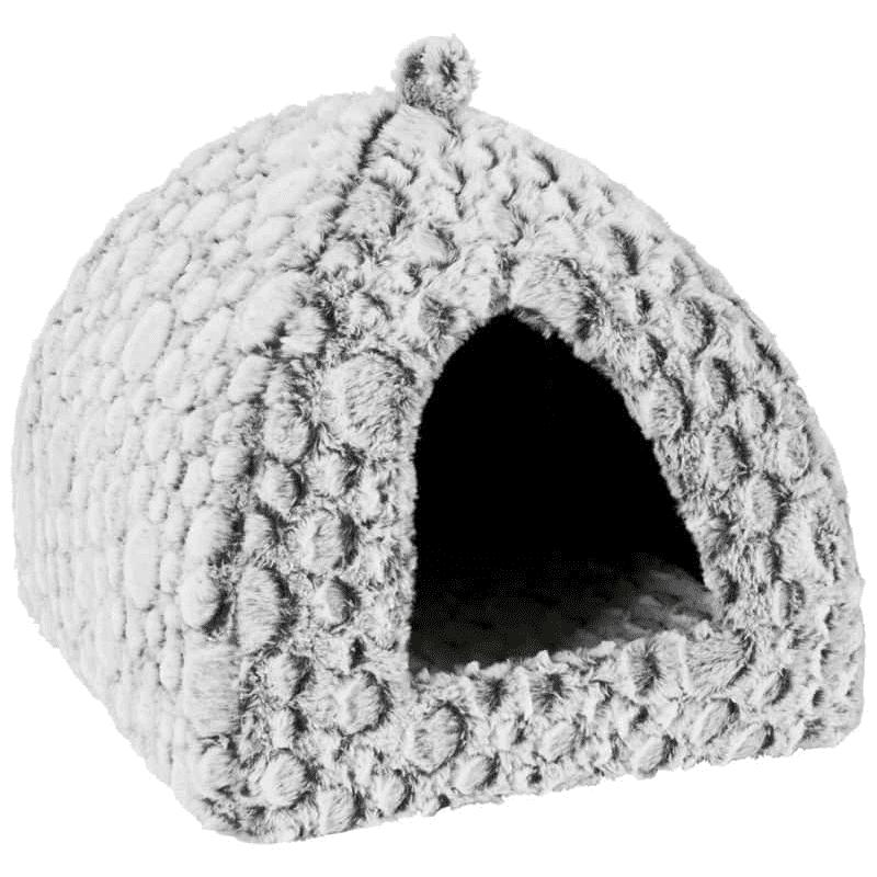 zolux cuccia per gatti igloo grigia 45 cm