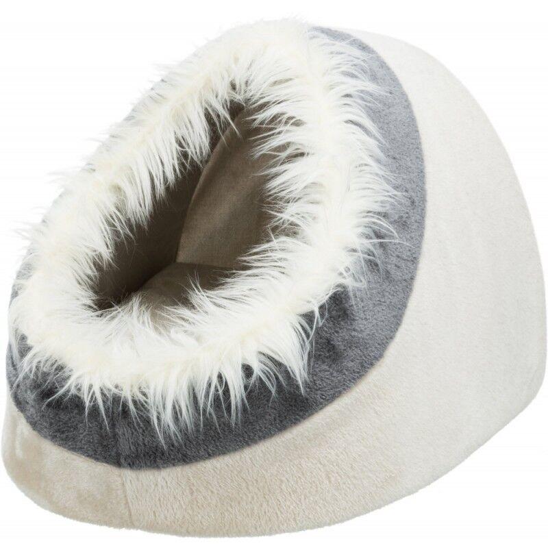 trixie cuccia igloo minou per gatti e cani 41x30x50 cm