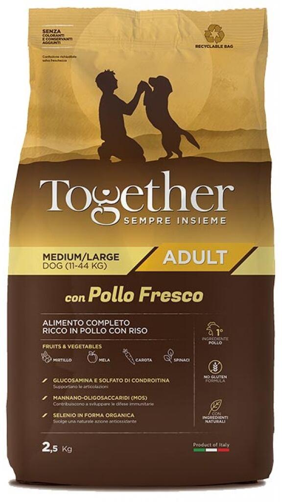 Together Dog Adult Medium/large Con Pollo Fresco 2,5kg