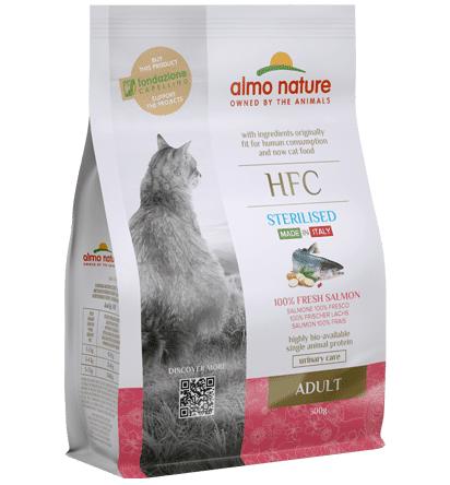 Almo Nature Hfc Gatto Adult Sterilizzato Con Salmone Fresco 300g