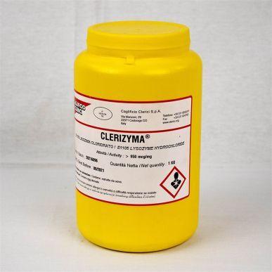 Caglificio Clerici Lisozima cloridrato E1105 Clerizyma - KG 1 LMPS0012
